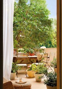 Casas con patio. Fotografía de elmueble.com