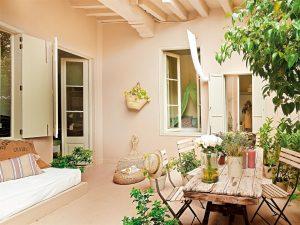 casas con patio-fotografía de elmueble.com
