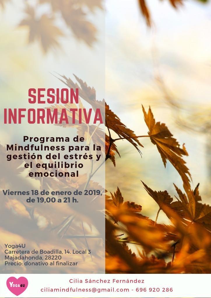 Sesión informativa Programa Mindfulness