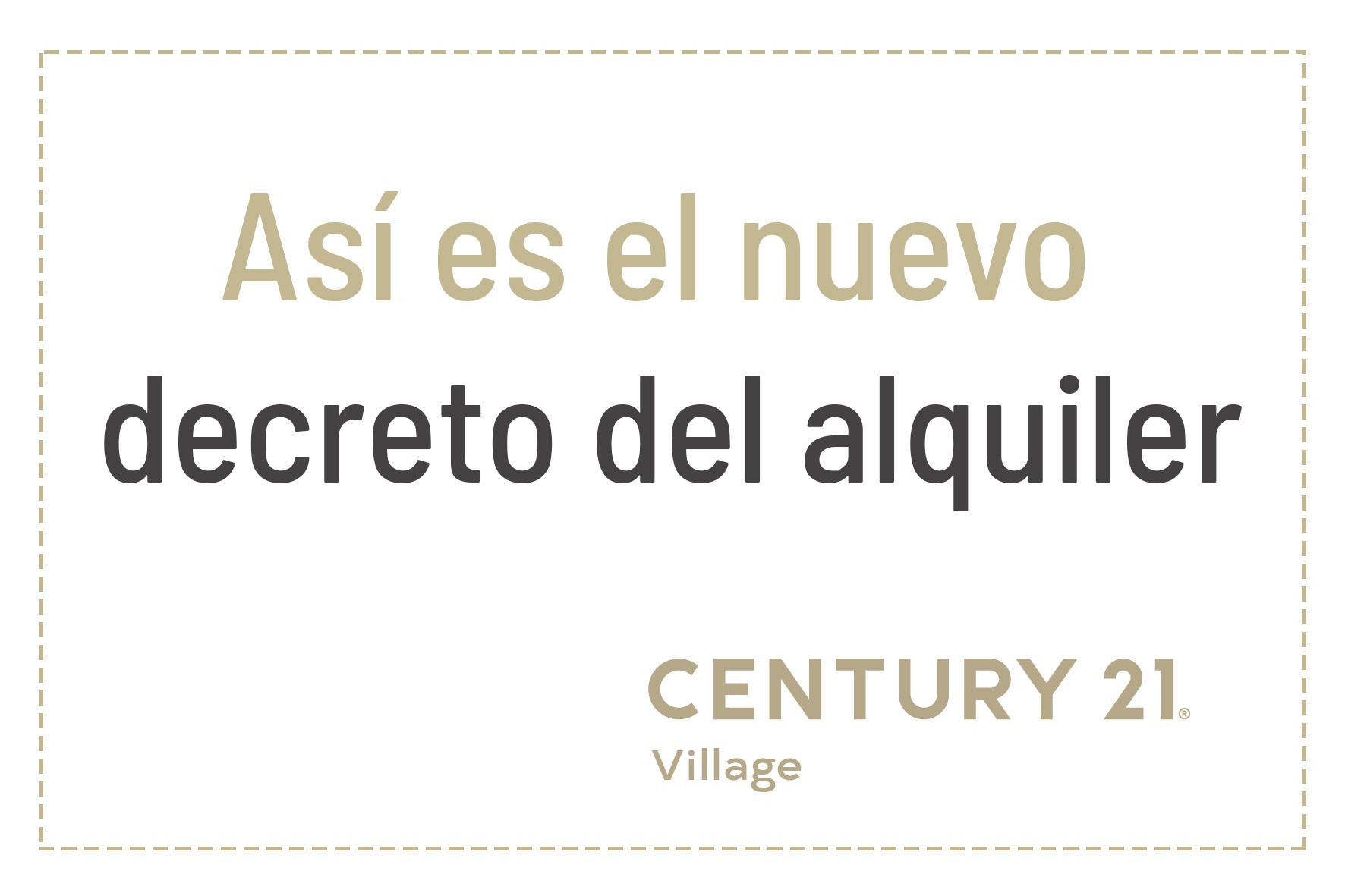 Decreto del alquiler Century 21 Village